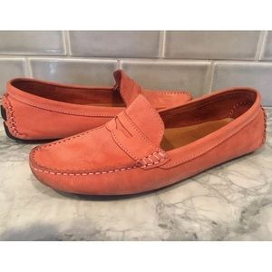 Mercanti Fiorentini penny moccasins pink 9.5